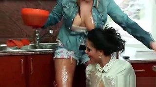 42 - Kinky Lesbian Kitchen Fun