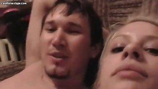 The sextape of amateur russian couple