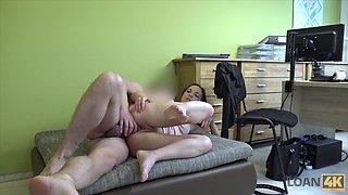 LOAN4K. Horny agent likes anal