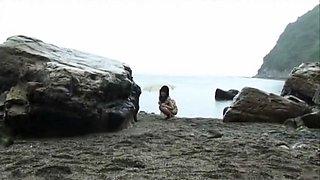 Crazy Japanese girl Manami Amamiya in Exotic Solo Girl, Outdoor JAV video
