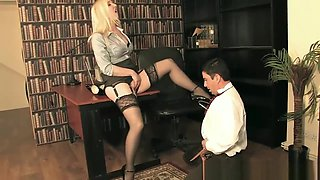 MistressSidonia - Office_Shoe_Pervert