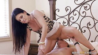 Stunning MILF India Summers fucked by her daughters hung BF