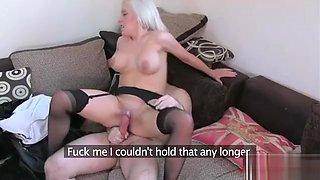 Hot pornstar casting and cumshot 1t