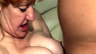 ugly toothless old mom fucked