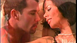 amazing sex leaves sexy latina olivia del rio with a mouthful of jizz