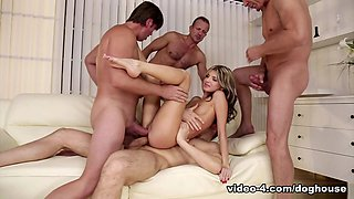 Incredible pornstars Gina Gerson, George Uhl in Amazing Anal, DP adult video