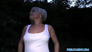 PublicAgent: Cute short haired blonde has a really tight pussy