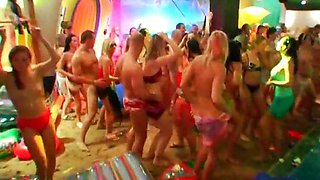 Indoor beach party