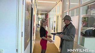 German Married Cheating Secretary Milf