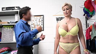 MILF Ryan's soft moans in the office