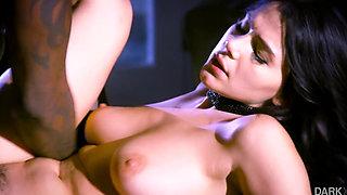 Valentina Nappi enjoys a special night with a big black cock