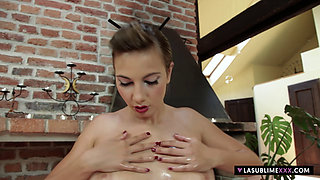 LaSublimeXXX Connie Carter gets oiled up and fucked hard