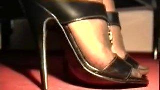 German nylon mistress