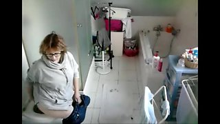 My sister in law in the toilet