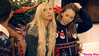 Angel smalls and kenzie reeves christmas family sex