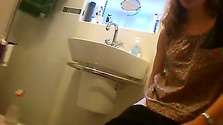 Women spied in friends toilet peeing