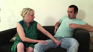She reveals mom and husband taboo sex