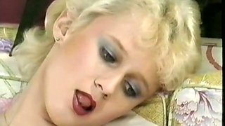 Busty russian babe got her pussy banged really hard by her friend