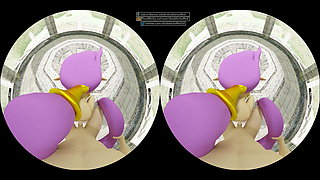 POV Shantae Doggystyle VR Animated by DoubleStuffed3D