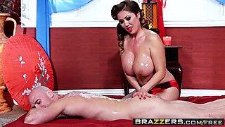 brazzers - dirty masseur - nuru-gasmic scene starring kianna