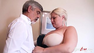 Mature Bbw Fingered And Fucked Real Hard