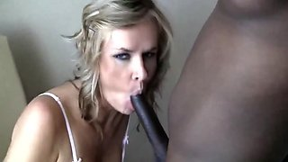 British Babe Takes Hubby and Black