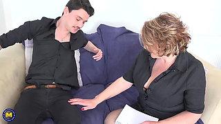 Best of mature moms fuck boys