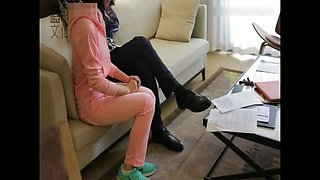 Chinese Girl Soundly Spanked Bare Bottom
