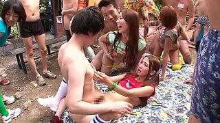 Amazing Japanese sluts Ayaka Tomoda, Hitomi Kitagawa, Kotomi Asakura in Crazy JAV censored Cunnilingus, Small Tits clip