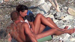 Nude beach wankers 4