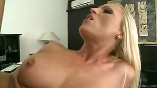 Horny milf secretary gets some deep ass fucking by the boss