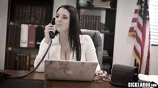 Corrupt businessman fucks big boobs milf councilwoman