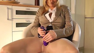 Fucking horny Mom in Nylons